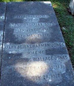 Mary Beirne <I>Harman</I> Jones