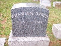 Amanda <I>Wessner</I> Dyson