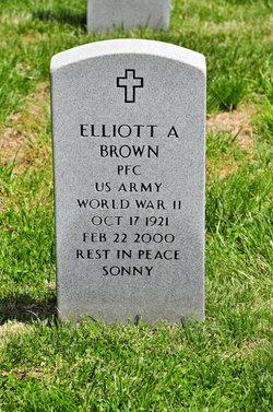 PFC Elliott A. Brown