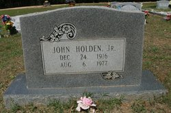 John Holden, Jr