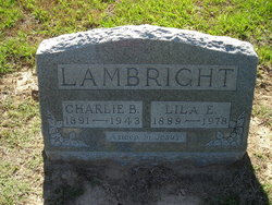 Lila Emma <I>Girdner</I> Lambright