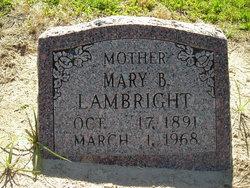 Mary Belle <I>Scott</I> Lambright
