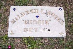 """Mildred L. """"Minnie"""" Boyer"""