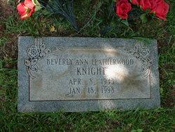 Beverly Ann <I>Leatherwood</I> Knight