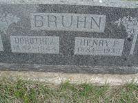 Dorothea <I>Timm</I> Bruhn