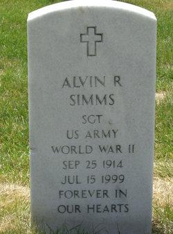 Alvin R Simms