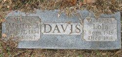 "Martha J ""Mattie"" <I>Stockstill</I> Davis"