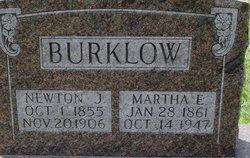 Martha E. <I>Graves</I> Burklow