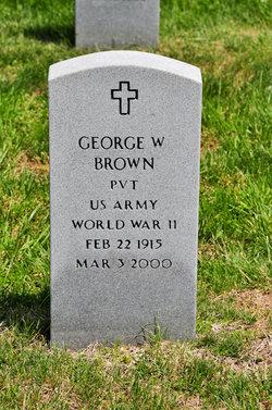 Pvt George W. Brown
