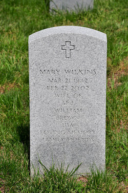 Mary <I>Wilkins</I> Brown