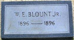 W E Blount, Jr