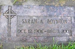 Sarah Annella <I>Reed</I> Boynton