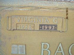 Virginia Dare <I>Garrett</I> Bagwell