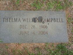 Thelma <I>Welles</I> Campbell