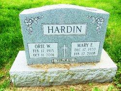 Orie W. Hardin