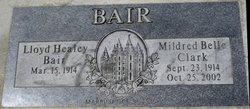 Mildred Belle <I>Clark</I> Bair