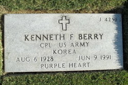 Kenneth F Berry
