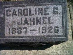 """Caroline Gertrude """"Carrie"""" <I>Toelle</I> Jahnel"""