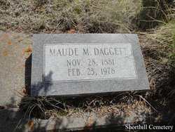 Maude M <I>Bottler</I> Daggett