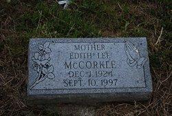 Edith Lee <I>McCorkle</I> Hollingsworth