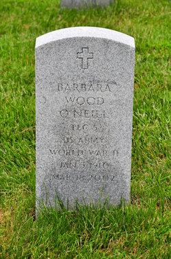 Barbara <I>Wood</I> O'Neill