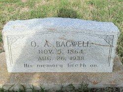 Oscar Alonzo Bagwell