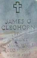 """James G. """"Jimmy"""" Cleghorn"""