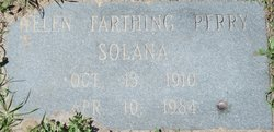 Helen Lois <I>Farthing</I> Solana