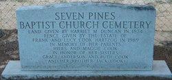 Seven Pines Baptist Church Cemetery