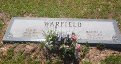 """Martha Victoria """"Mattie Vic"""" <I>Watson</I> Warfield"""