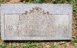 Eberle Ann Bingham