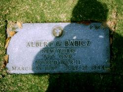 Pvt Albert G Babicz