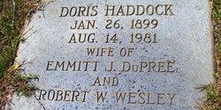 Doris J. <I>Haddock DuPree</I> Wesley