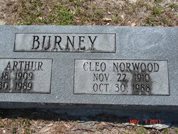 Cleo <I>Norwood</I> Burney