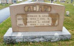 Sariah L. <I>Schaeffer</I> Adam