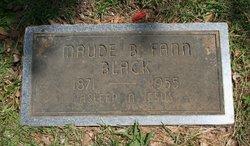 Maude B. <I>Fann</I> Black
