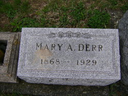 Almira Mary <I>Woodward</I> Derr