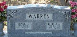 Frank R Warren