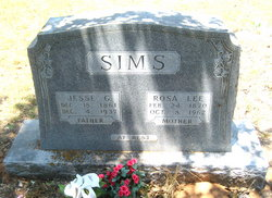 "Rosa Lee ""Rosie"" <I>Simpson</I> Sims"