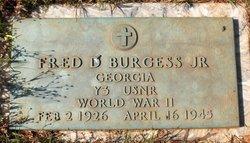 Fred Durell Burgess Jr.