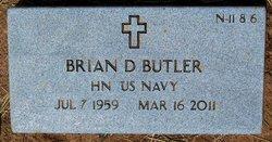 Brian D Butler
