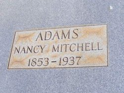 Nancy <I>Mitchell</I> Adams