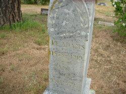 Jacob Edwin Adams
