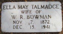 Ella Mae <I>Talmadge</I> Bowman