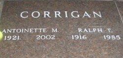 """Antoinette M. """"Madaline"""" <I>Kaiser</I> Corrigan"""