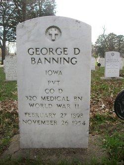 George Dewey Banning