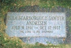 Ella <I>Scarborough</I> Andresen