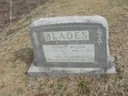 Ada May <I>Marion</I> Blades