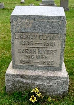 Sarah <I>Myers</I> Clymer
