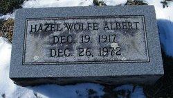 Hazel <I>Wolfe</I> Albert